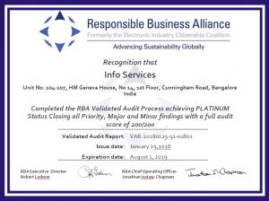 RBA Certificate